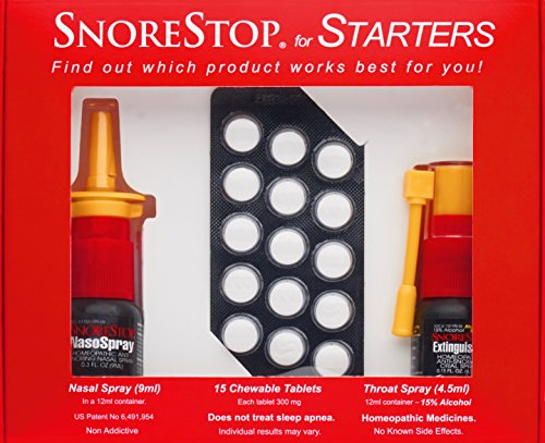 SnoreStop Starter Kit Stop Snoring - Spray Snoring