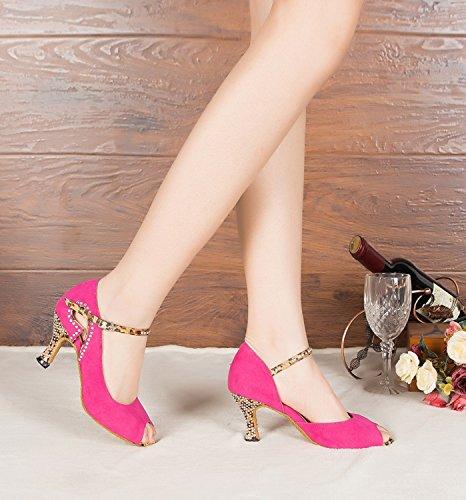 Minitoo - Zapatos de tacón  mujer morado