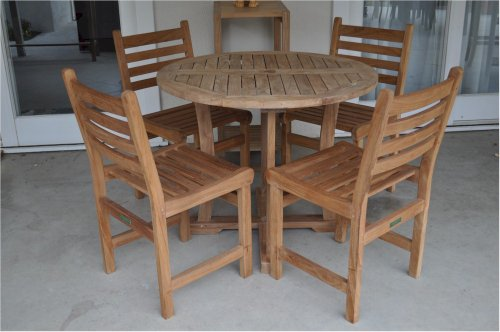 Anderson Teak Set (Anderson Teak Descanso Windham Bistro Furniture Set without)