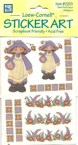 Sweet Pea Florist (Sweet Pea & Grace Stickers 1 Sheets Acid Free, Photo Safe Scrapebooking Memory Accessory)