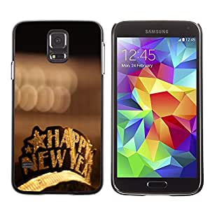 YOYO Slim PC / Aluminium Case Cover Armor Shell Portection //Christmas Holiday Happy New Year 1220 //Samsung Galaxy S5