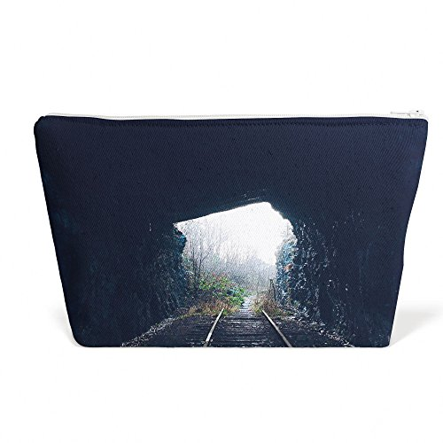 Tunnel - Pen Pencil Marker Accessory Case - Picture Photography Office School Pouch Holder Storage Organizer - 13x9 inch (AB116) ()
