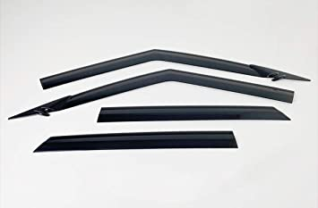 AUTOCLOVER Smoked Side Window Deflectors 4p for 2020 Hyundai Venue