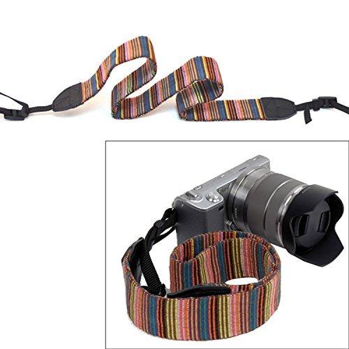 Vococal Novedad Cuello Ajustable Correa Correa para Sony Canon Nikon Panasonic c/ámara r/éflex Digital SLR Accesorios