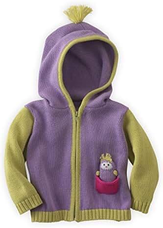 Joobles Fair Trade Organic Baby Cardigan Sweater - Icy the Penguin
