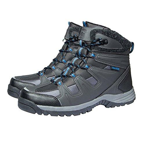 Boots Blau Größe Schuhe grau Herren Thermo Thermo Wählbar stiefel qz7R5x