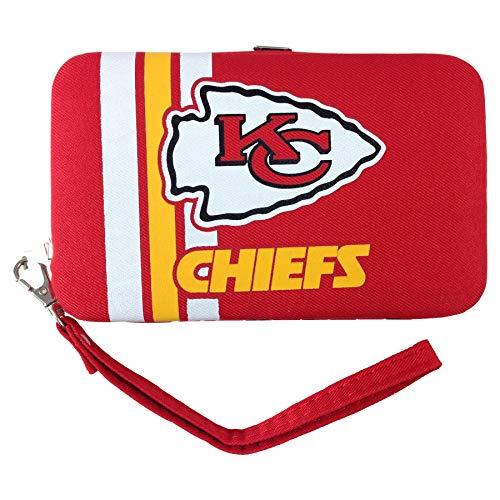 NFL Kansas City Chiefs Distressed Logo Shell Wristlet ()