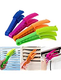 Win Bumud Microfiber Wuzzy Blind Duster Shutters Cleaner Window Brushes -- Set of 4 online