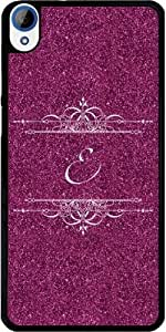 Case for Htc Desire 820 - Pink Glitter E by ruishername