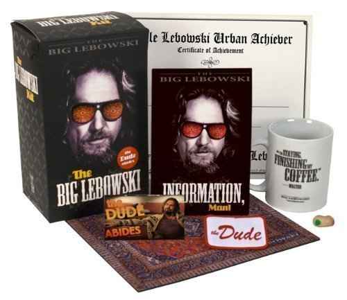The Big Lebowski Kit Dude Abides Running Press Mega By 2010 Com Books