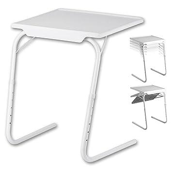 Table dappoint pliante blanc