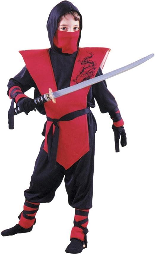 Fun World Complete Ninja Costume, Large 12 - 14, Multicolor