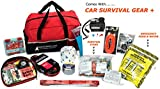 Car Emergency Kit (185-Pieces) with Survival Gear from AutoClubHero