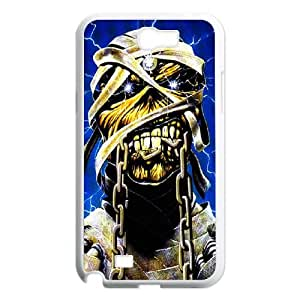 Samsung Galaxy N2 7100 Cell Phone Case White Iron Maiden acy