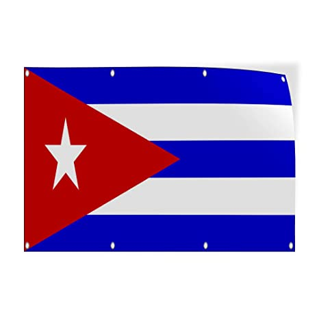 Amazon Com Decal Sticker Cuba Flag Red Blue White Countries