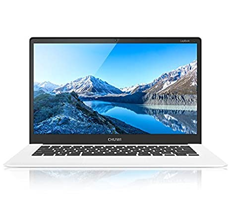 CHUWI LapBook 15.6 Pulgadas Ordenador portatil Windows10 4GB RAM + 64GB ROM Intel Atom Z8350 X5 64-bit Quad-Core 1.44GHz GPU 2MP Cámara WiFi Bluetooth ...
