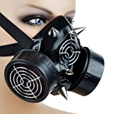 Cyber Goth Rave Cosplay Mask Spike