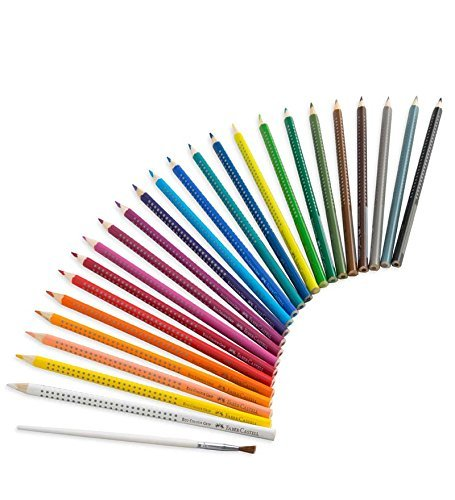 Faber Castell Watercolor EcoPencils, set of 24 by Frontier