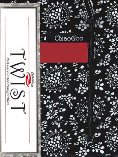 ChiaoGoo TWIST Red Lace Interchangeables Knitting Needles,Small Size