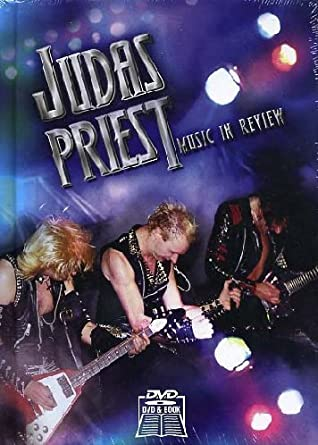 Judas Priest - Music in Review (+ Buch) [Reino Unido] [DVD