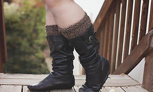 Interchangeable boot cuffs pattern: Knitting Pattern
