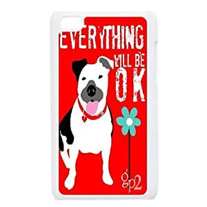 Custom Everything Will Be OK Ipod Touch 4 Case, Everything Will Be OK Personalized Case for iPod Touch4 at Lzzcase