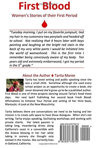 First Blood: Womens Stories of Their First Period: Tarita ...