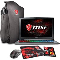 MSI GF62 7RE-2025 15.6 Gaming Laptop - Intel Core i7-7700HQ, GTX1050TI, 16GB DDR4, 1TB, Win10 + Gaming Bundle