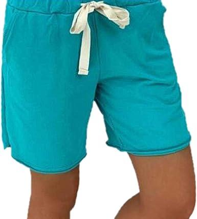 Worclub Mujer Shorts Holgados De Carga Holgados Con Cordon Y Bolsillos Pantalones Cortos Sexy De Summer Beach Amazon Es Ropa Y Accesorios