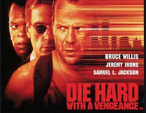 Phillips Iron Print (Die Hard: With a Vengeance POSTER Movie (22 x 28 Inches - 56cm x 72cm) (1995) (Half Sheet Style A))