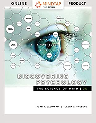 MindTap Psychology for Cacioppo/Freberg's Discovering Psychology: The Science of Mind - 6 months - 3rd Edition [Online Courseware]