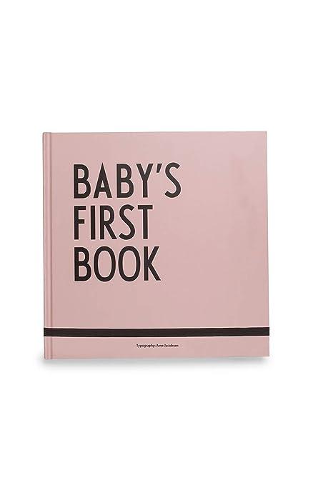 Libro de recuerdos Baby s First Book Design Letters