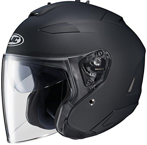 HJC Is-33 Ii Matte Black Size:LRG Motorcycle Open-face-helmet