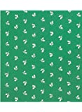 Patterned Fitted Tablecloths, Color Green