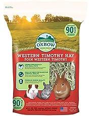 Oxbow Animal Health 114411/194 OXBOW Animal Health Western Timothy Hay for Konbits Guinea Pigs Chinchillas 90z