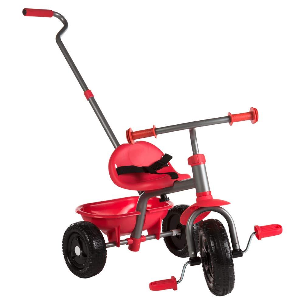 B01M9CI0WUカラー赤ちゃん三輪車、ハンドルを伸ばす赤 B01M9CI0WU, ネットショップカズ:b0c18b00 --- number-directory.top