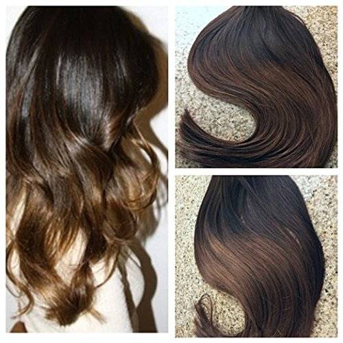 Cheap Hot Queen Tape Hair Extensions Dark Brown 40PCS 100G Ombre Tape Hair Extensions Remy Brazilian Hair Weave Removal