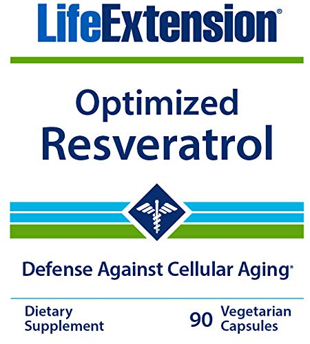 Life Extension Optimized Resveratrol, 90 Vegetarian Capsules by Life Extension
