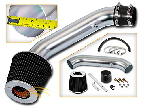 RSG Racing Short Ram Air Intake Kit BLACK Compatible For 94-01 Acura Integra LS/RS/GS L4 1.8L ()