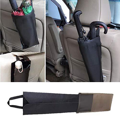 Sacchetto di immagazzinaggio Sacchetto di ricezione Fodero per ombrello impermeabile pieghevole nero Gallocabe Portaombrello impermeabile Seggiolino per auto posteriore