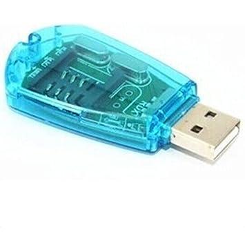 topbeu USB adaptador de lector de tarjeta SIM escritor copia ...
