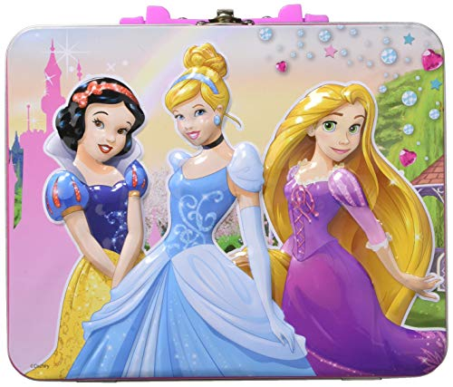 (Disney Princess 48pc Puzzle Tin - Lunch Tin Box ( 7.75