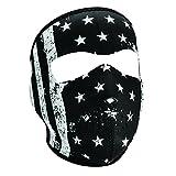 Zanheadgear Neoprene Full Face Mask, Vintage Flag