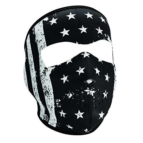 - ZANheadgear Neoprene Full Face Mask, Vintage Flag