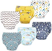 Max Shape Baby Boys Toddler Boys Potty Training Pants Underwear, Padded Cotton Pee Training Pants for Toddler