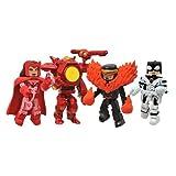 Minimates Marvel Avengers Versus X-men 4pack Scarlett Witch, Cyclops, Phoenix Buster Iron Man