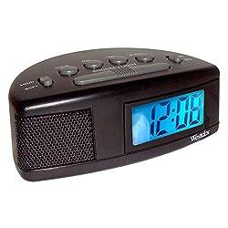 .7 LCD Alarm Clock