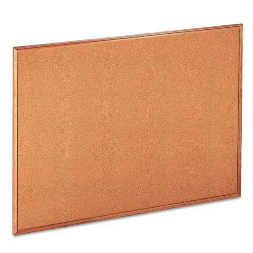 (Universal 43604 Cork Bulletin Board 48 x 36, Natural Oak-Finished Wood Frame)