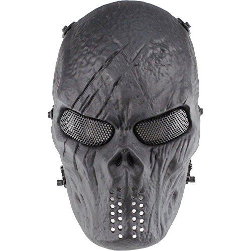 Predators Masks (YX New Emirates M06 Predator Mask, Full Face Scary Skull Skeleton Airsoft/BB Gun/CS Full Face Protect Mask)