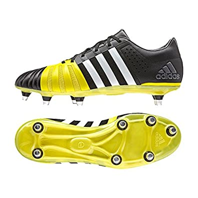 adidas AW15 SS16 FF80 Pro 2.0 XTRX SG Rugby Boots - Black Yellow   Amazon.co.uk  Shoes   Bags 2696ab0373